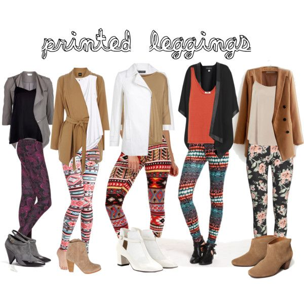 how to wear printed leggings | Patterned leggings outfits, Printed .