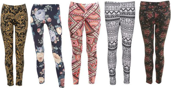 How to Wear Patterned Pants and Leggings - College Fashi