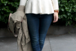 pretty much the greatest peplum sweater on the planet | Fashi
