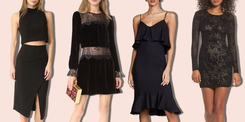 8 Best Black Cocktail Dresses for 2018 - Sexy Black Cocktail .