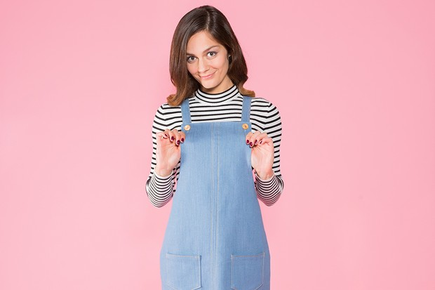 9 of the best Pinafore Dress sewing patterns - Gather