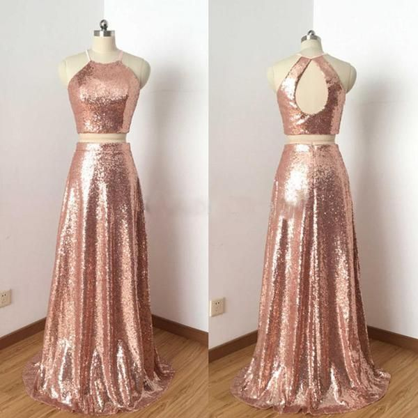 Rose Gold Prom Dresses Ideas 14 | Gold prom dresses, Rose gold .