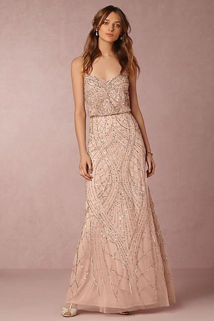 Anthropologie x BHLDN Tobin Wedding Guest Dress #anthroregistry .