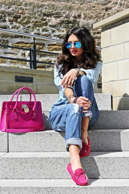 23 Women Outfit Ideas With Pink Shoes For This Season - Styleohol