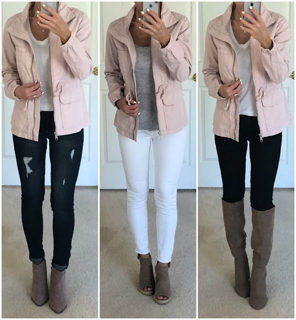 Six Pink Jacket Outfit Ideas in 2020 | Leather jacket outfits .