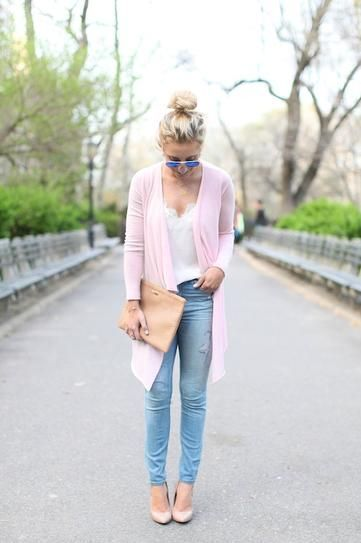 25 Ways to Pull Off Pastels in the Fall | Spring fashion outfits .
