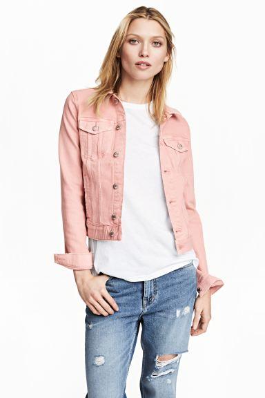 Denim jacket - Light pink - Ladies | H