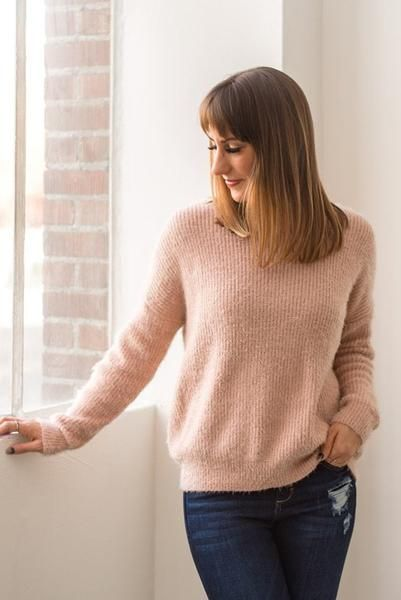 Twist and Pout Fuzzy Sweater | Sweaters, Vintage street fashion .