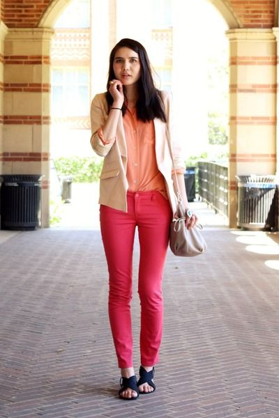 Amazing Pink jeans Outfit Ideas for Ladies on Stylevo