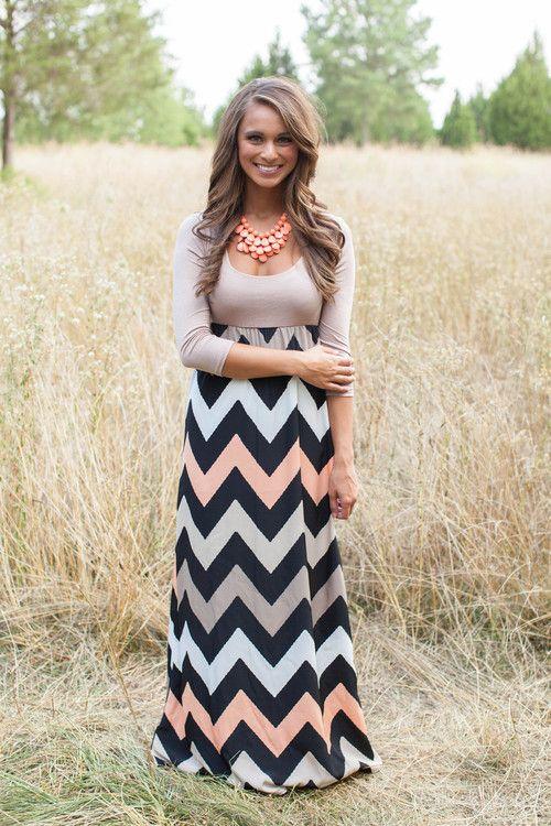 How To Wear Long Dresses – Inspiration Ideas 2020 | FashionGum.c