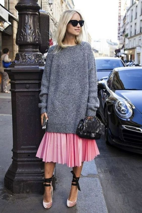 How To Style A Midi Skirt For Winter: 15 Ideas - Styleohol