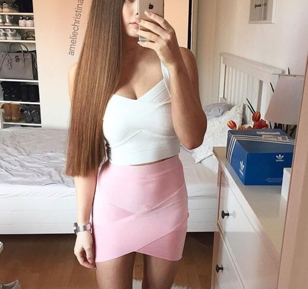 skirt, mini skirt, sexy skirt, pink, pink skirt, pastel pink .
