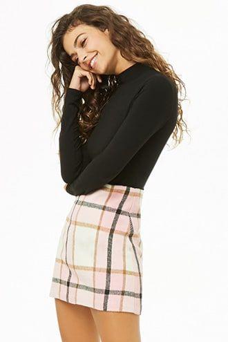 Plaid Mini Skirt | Forever 21 | Plaid mini skirt, Miniskirt .