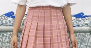 How to Wear Plaid Pleated Skirt: Top 15 Attractive Outfit Ideas .