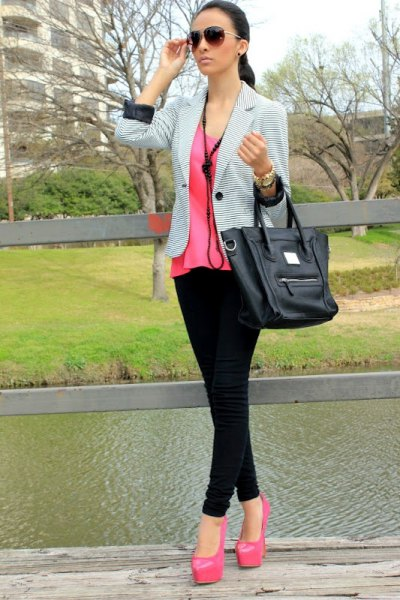 How to Style Pink Platform Heels: Top 13 Attractive Outfit Ideas .