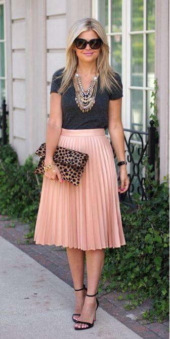 23 Cute Skirt Outfit Ideas | Outfit Ideas | Fashion, Skirt fashion .