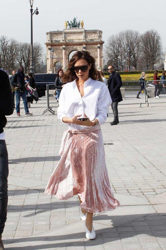 15 Velvet Midi Skirt Outfits To Try Now - Styleohol