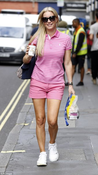 How to Wear Pink Polo Shirt: Best 13 Smart Casual Outfit Ideas for .
