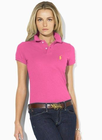 cheap ralph lauren Women's Classic-Fit Short Sleeve Polo Shirt .