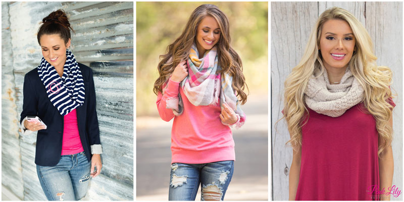 How To Mix and Match Scarves with Your Favorite Outfits - Pink Li