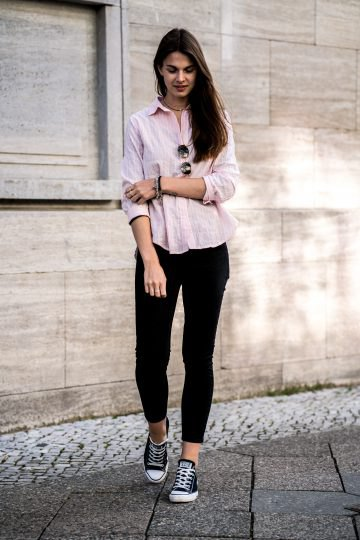 How to Wear Pink Shirt: 15 Ladylike Outfit Ideas for Women - FMag.c