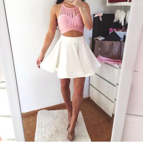 skirt, outfit, outfit idea, summer outfits, cute outfits, spring .