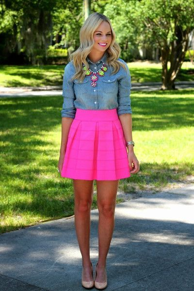Top 12 Style Ideas to Wear Skater Skirt: Fashion Guide #skater .