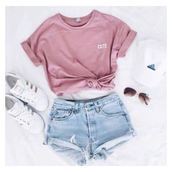 Shirt: t- pink cute adidas superstars adidas cap outfit summer .