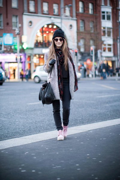 How to Style Pink Timberland Boots: Outfit Ideas - FMag.c