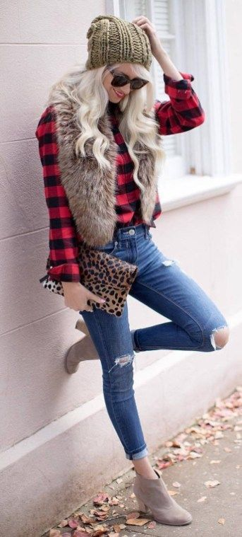 30 Cozy Fall Outfit Ideas for Ladies   Simply Chic   Cozy fall .