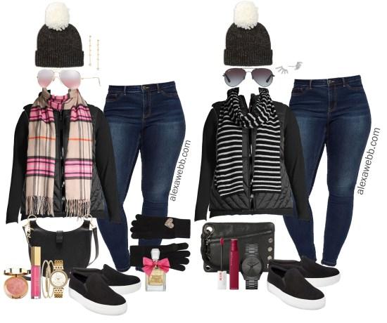 Plus Size Black Vest Outfit Ideas - Alexa We