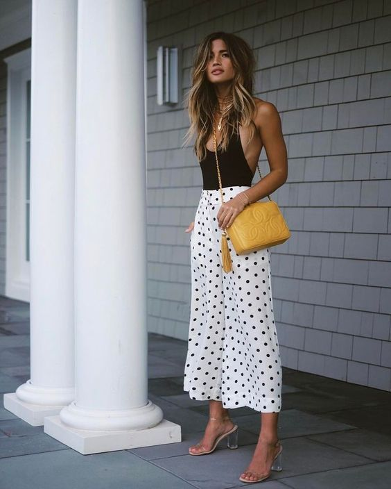 Polka Dot Pants | Chic summer outfits, Fashion, Street sty