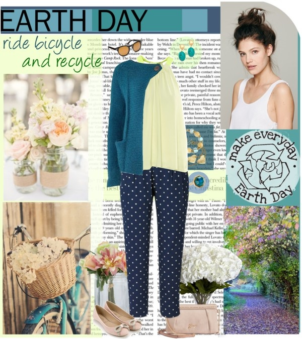 Happy Earth Day ~ Eco-friendly outfit ideas ~ 30 something Urban Gi