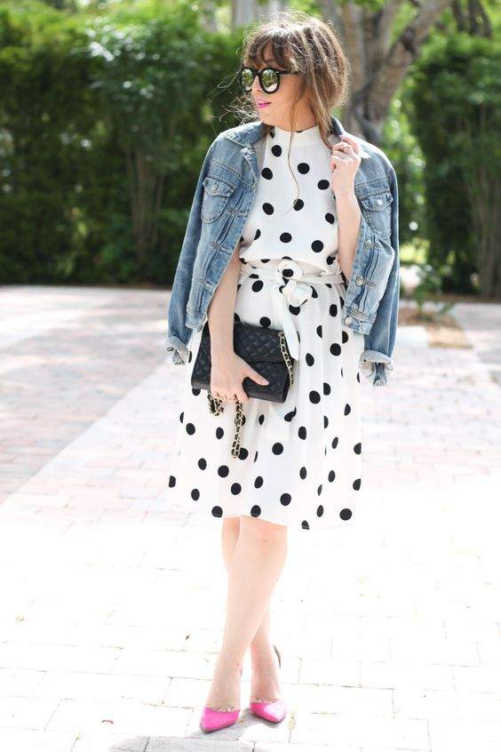 15 Trendy Ways To Wear Polka Dots This Spring - Styleohol