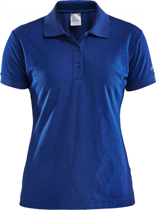Craft Polo Shirt Pique Classic Women › Deep Blue Melange (192467 .