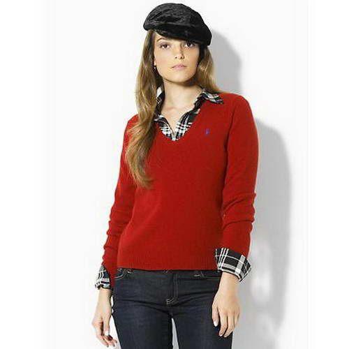 Polo Ralph Lauren | Polo sweaters women, Sweaters for women, Vneck .