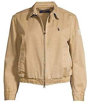 Polo Ralph Lauren Women's Logo Windbreaker Bomber Jacket | Womens .