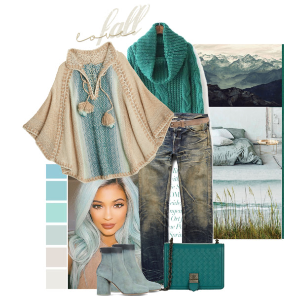 Poncho Outfit Ideas For Women Over 50 2020 | Style Debat