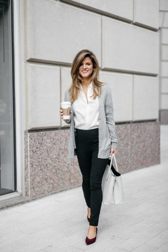 5 Steps to Getting the Job You Want | Business casual outfits .