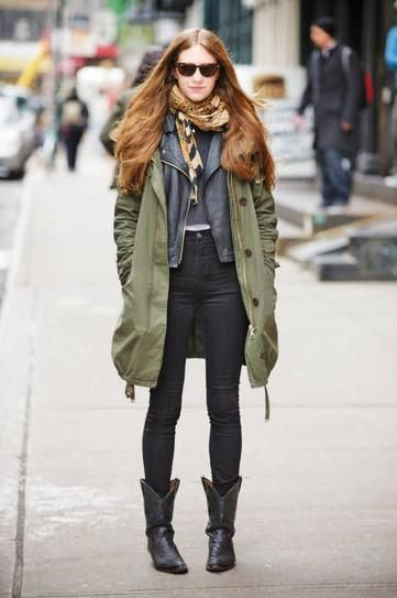 How to Pull Off Cowboy Boots Like a City Slicker | Winter boots .