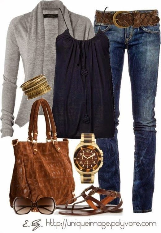 Fashion Ideas For Women Over 40 (11) - this look has style ! Could .