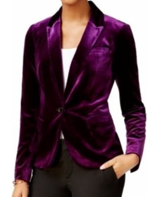 New Savings on Tommy Hilfiger NEW Purple Velvet Women's Size 10 .