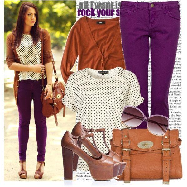 ideas for my purple skinny jeans my-style   Purple skinny jeans .
