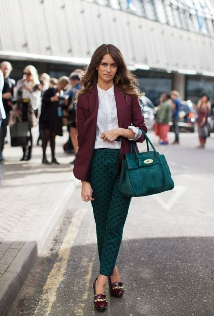 How to Wear Purple Blazer for Women: Style Guide - FMag.c