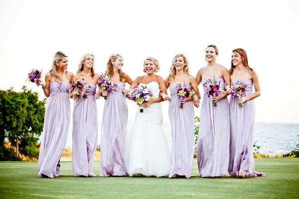 Wedding Ideas by Color: Purple | Lilac bridesmaid, Bridesmaid .