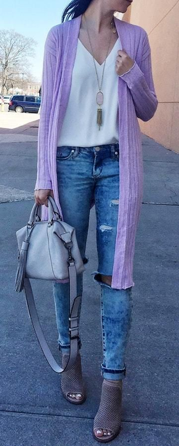 Outfit Ideas: 50 Winter Outfit Ideas For Women | Spring outfits .