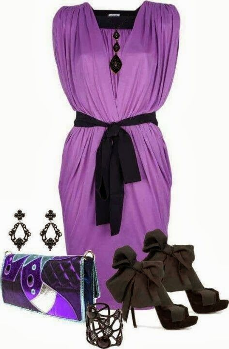 Outfit Ideas For Ladies... | Purple outfits, Fashion, Purple fashi