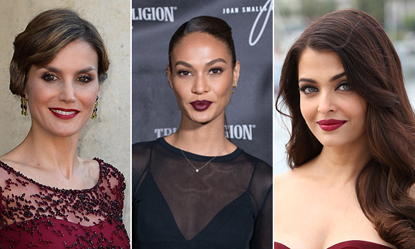 Fall celebrity makeup trend: Top 5 berry lipsticks - Photo