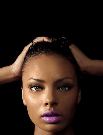 Black Girls And Purple Lipstick – A Trend To Follow Or Not .
