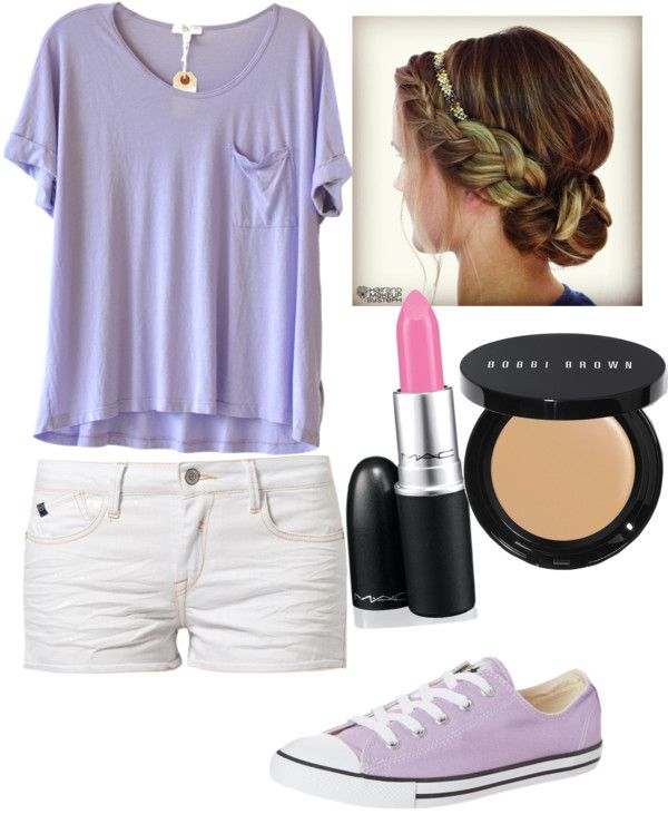 Cute school outfit | Purple outfits, Fashion, Cute outfits for scho